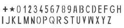 Caderno De Etiquetas Remarcação De Chassi De 5mm + 500ml liquido gravador ferro(aço)